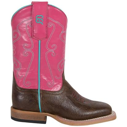Anderson Bean Girls Cocoa Puff Strawberry Shortcake Cowboy Boots