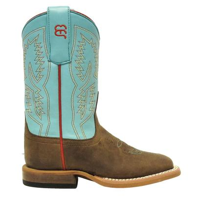 Anderson Bean Kids Turquoise WaveBone Mad Dog Boot