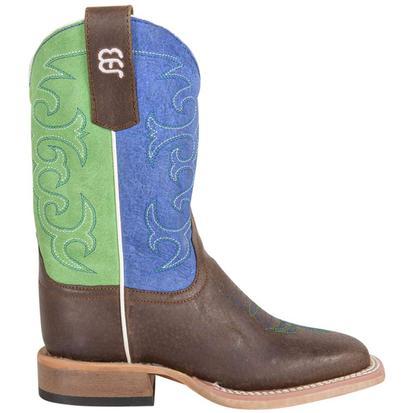 Anderson Bean Blue & Green Sensation Boots