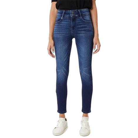 Kancan High Rise Skinny Dark Wash Women's Jeans