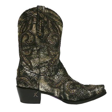 Lane Boots By Kippys Tattoo Shortie