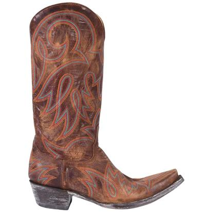 Old Gringo Womens Vesuvio Brass Lauren Boots