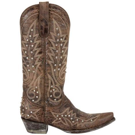 Old Gringo Womens Nevada Crystal Chocolate Galaxia Boots