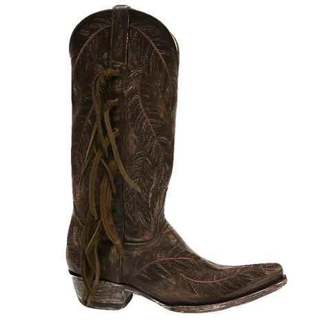 Old Gringo Womens Chocolate Choctaw Western Boots