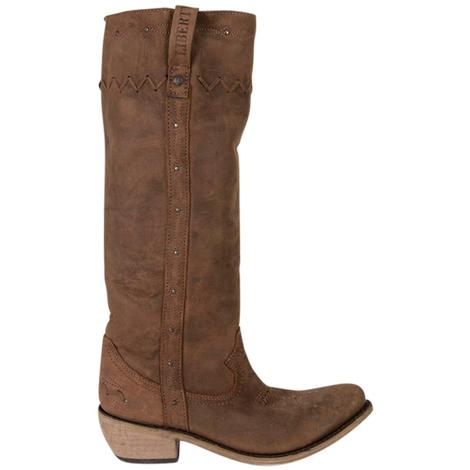Liberty Black Womens Vegas T Moro Boots