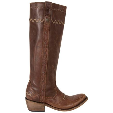 Liberty Black Womens Toscano T-Moro Western Boots