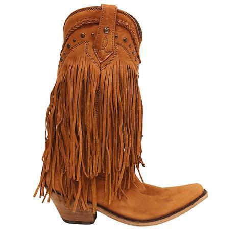 Liberty Black Womens Bovine Vegas Papaya Western Boots