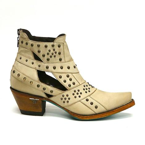 Lane Womens Studs & Straps Western Boots