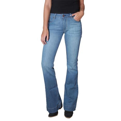 Kimes Ranch Lola Dark Wash Women's Trouser