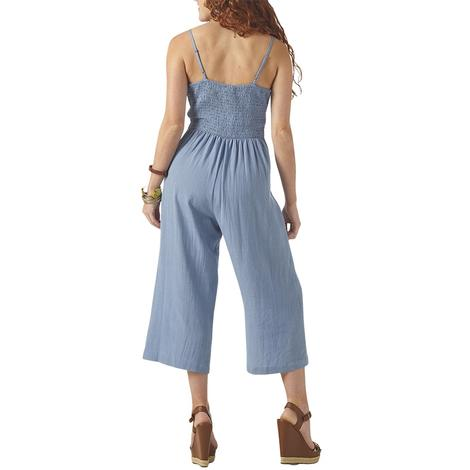 Wrangler Chambray Women's Jumpsuit with Tie Front
