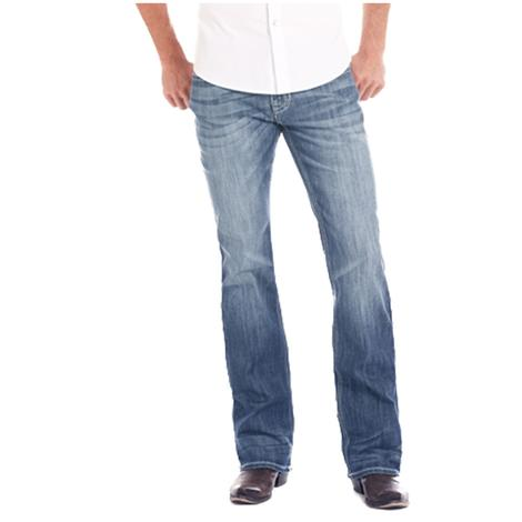 Rock and Roll Cowboy Double Barrel Straight Leg Reflex Medium Vintage Mens' Jeans