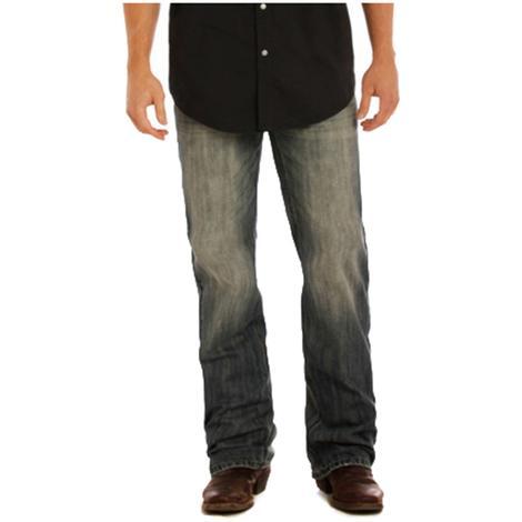 Rock & Roll Cowboy Double Barrel Straight Leg Medium Wash Jeans