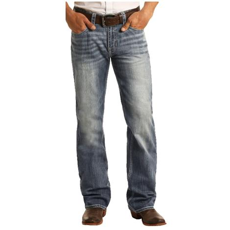 Rock and Roll Double Barrel Straight Leg Medium Vintage Men's Jeans