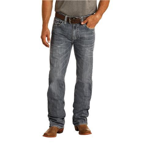 Rock and Roll Cowboy Double Barrel Straight Medium Vintage Men's Jeans