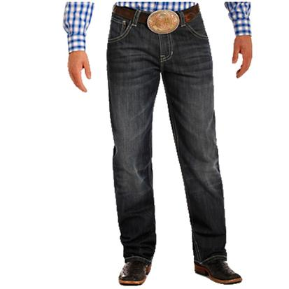 Rock & Roll Cowboy Mens Tuf Cooper Competition Fit Boot Cut Jeans