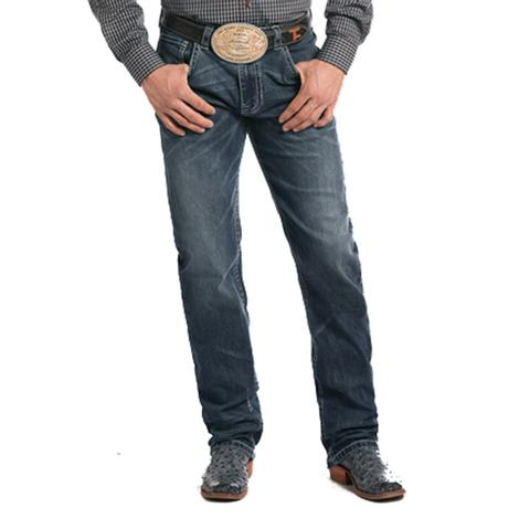 Rock and Roll Cowboy Mens Medium Vintage Tuf Cooper Competition Jeans