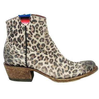 Macie Bean Gato Not So Grande Leopard Boots