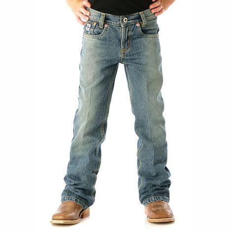 Cinch Boy's Low Rise Original Slim Fit Jeans - Medium Wash