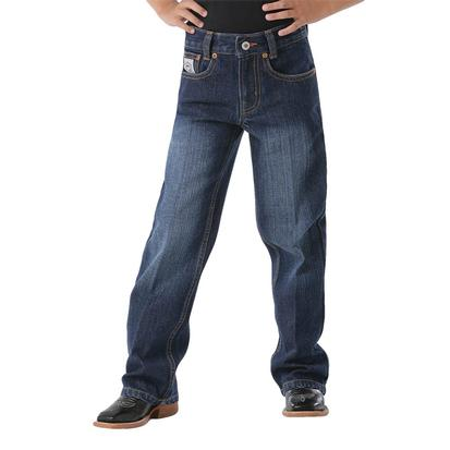 Cinch Boys White Label Slim Fit Jeans - Dark Stonewash