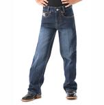 Cinch Boys' White Label Slim Fit Jeans - Dark Stonewash