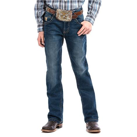 Cinch Slim Fit Stone Wash Boy's Jeans - Toddler