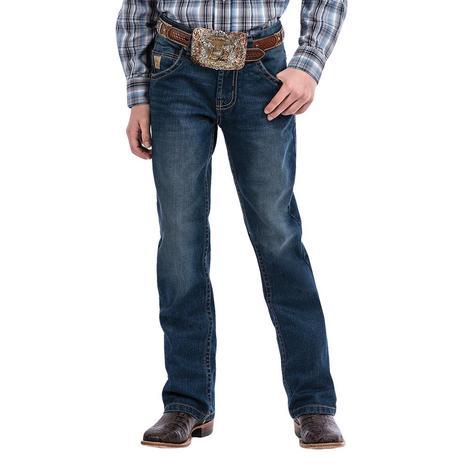 Cinch Slim Fit Stonewash Boy's Jeans Size 8-16