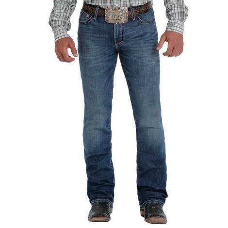 Cinch Ian Slim Fit Medium Wash Bootcut Men's Jeans