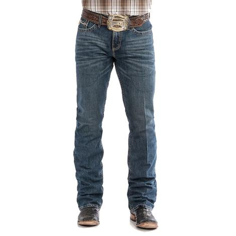 Cinch Ian Mid Rise Slim Boot Cut Men's Jeans