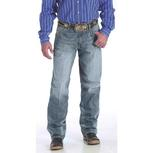 Cinch Mens Western Sawyer Distressed Mid Rise Jeans