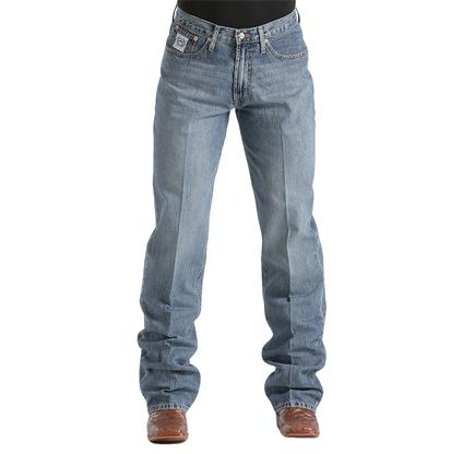 Cinch Mens White Label Relaxed Fit Jeans -  Light wash