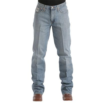 Cinch Mens White Label Relaxed Straight Leg Jean - Light Stonewash