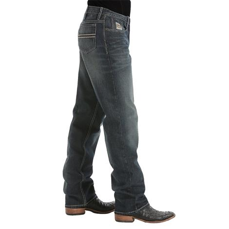 Relaxed Fit Cinch Jeans for Men - Dark Stone Tint