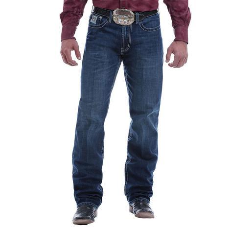 Cinch White Label Dark Wash Straight Leg Men's Jeans