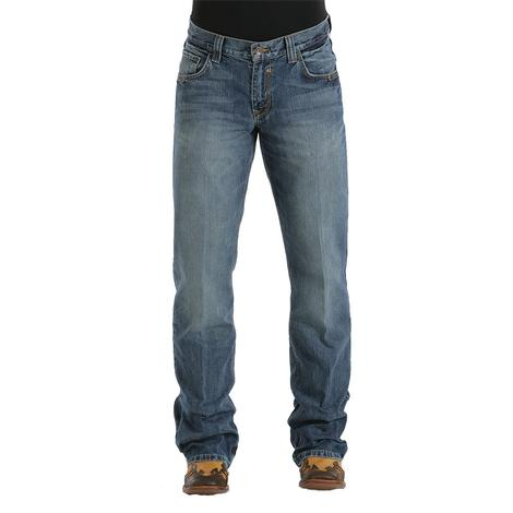 Cinch Mens Carter Relaxed Fit Bootcut Jean - Medium Stonewash