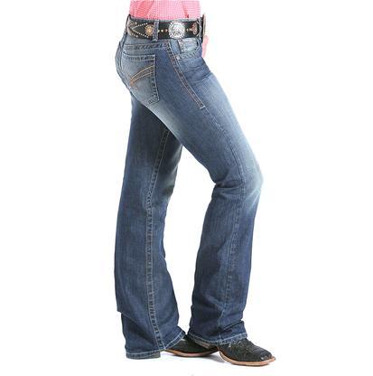 Cinch Women's Ada Mid Rise Jeans