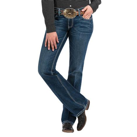Cinch Ada Mid Rise Relaxed Boot Cut Women's Jeans