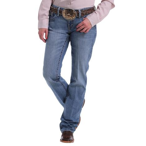 Cinch ADA Light Wash Relaxed Boot Cut Jeans