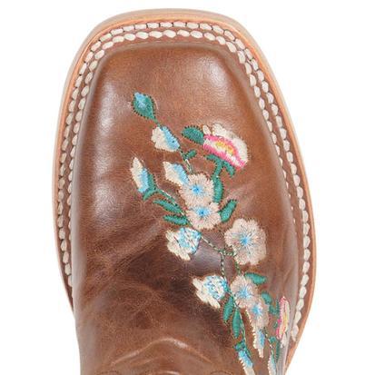 Macie Bean Kid's Rose Garden Cowgirl Boots