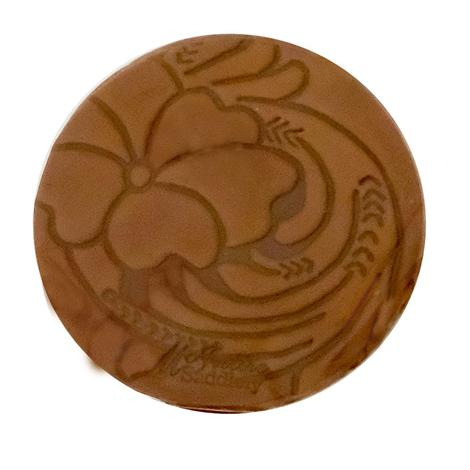 Miranda McIntire Leather Scented Car Coasters - Saddle Shop
