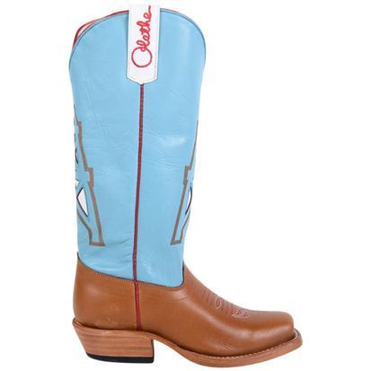 Olathe Boys Leather Cowboy Kids Oiled Derek Tan Western Boots
