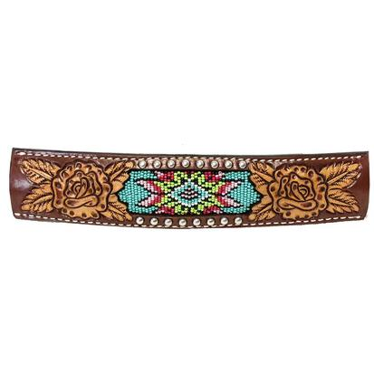 Rafter T Beaded Inlay Rope Halter