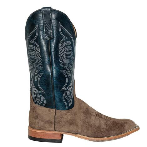 Anderson Bean Mens River Rock Teal Goat Boots