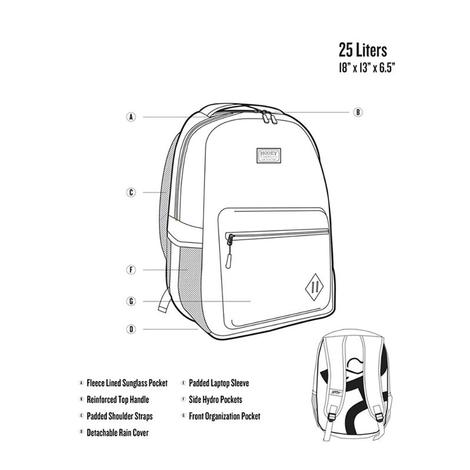 Hooey Tie Dye Recess Backpack