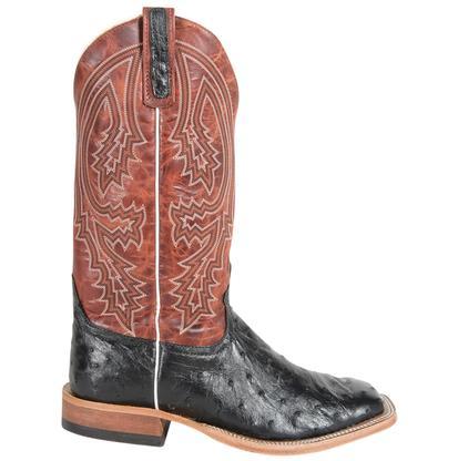 Anderson Bean Mens Rust Lava Top Boots