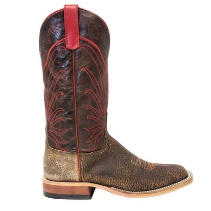 Anderson Bean Mens Tag Boar Bone Explosion Leather Cowboy Boots
