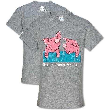Southern Couture - Don't go Bacon my Heart - Grey