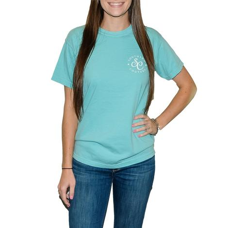 Chalky Mint Heart of the South Short Sleeve T-Shirt