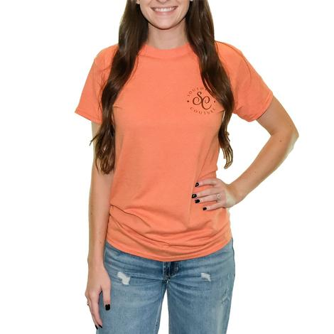 Sunset Orange You Can't Handle My Prickly Side Short Sleeve T-Shirt