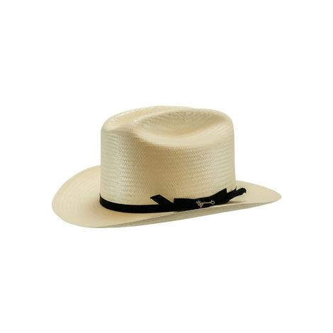 Stetson Open Road 2.75 Brim Grossgrain Ribbon Natural Straw Hat