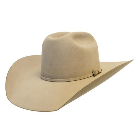 STT Pure Beaver Natural Felt Hat 4.25in Brim